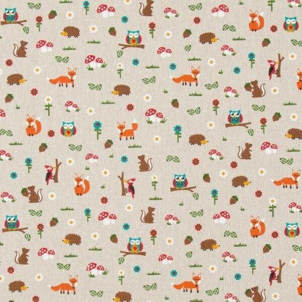67 - Režná -Zvieratká v lese