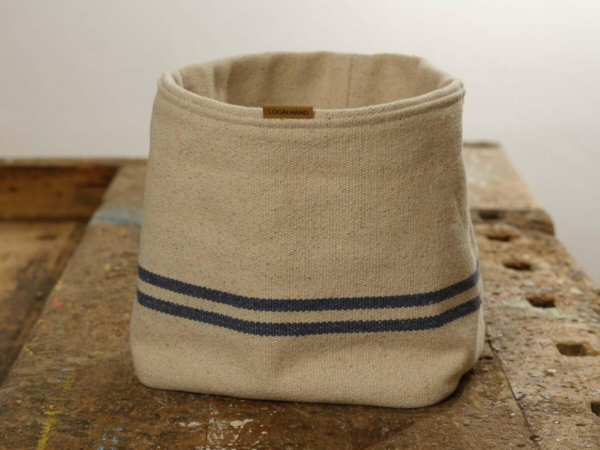 Ľanové vrecko na servírovanie - Josephine Blue